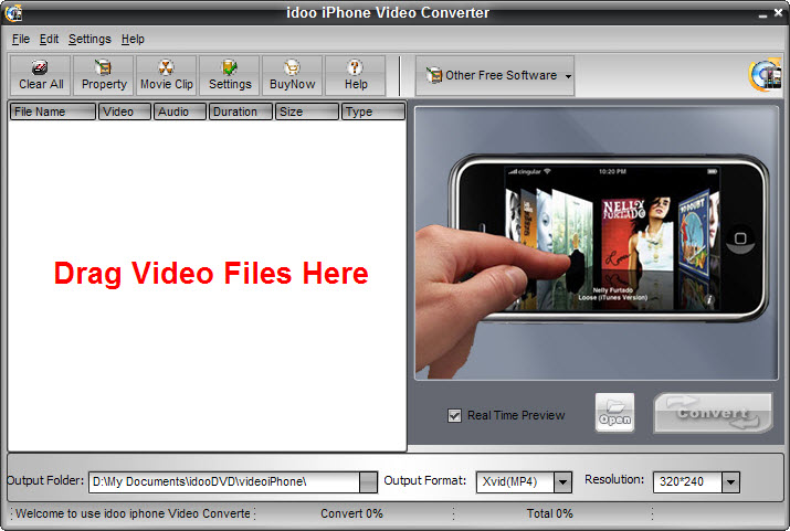 Convert Video to iPhone Video