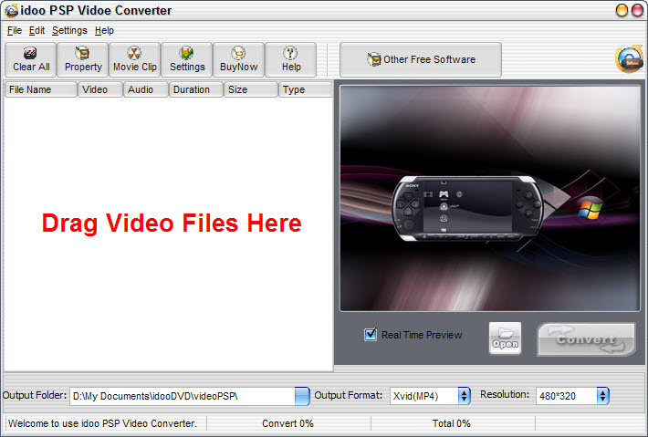 Convert Video to PSP Video