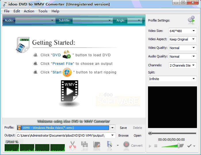 convert encryption DVD into WMV video format